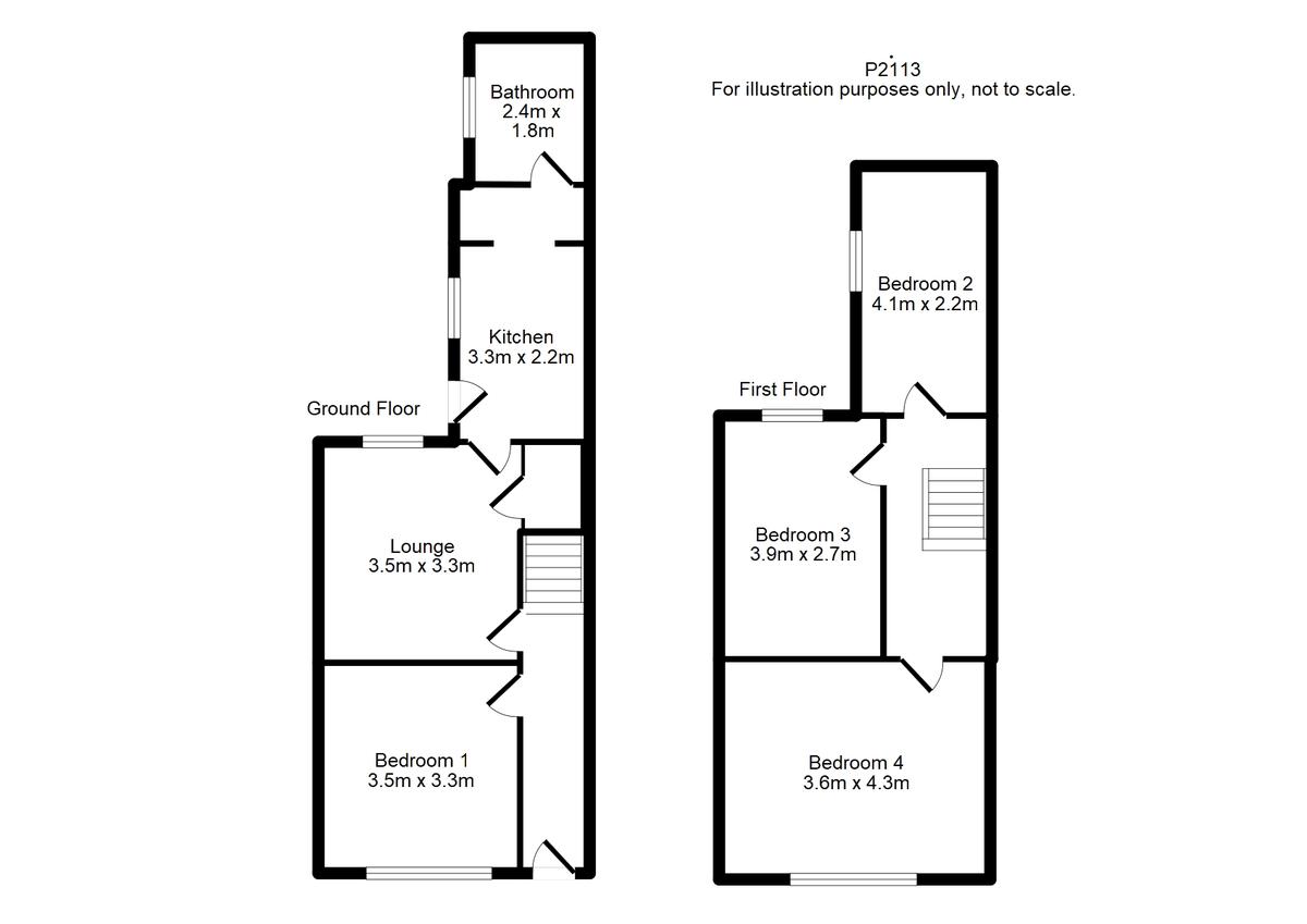 Student housing on Neville Street, Haxby Road - floorplan 01
