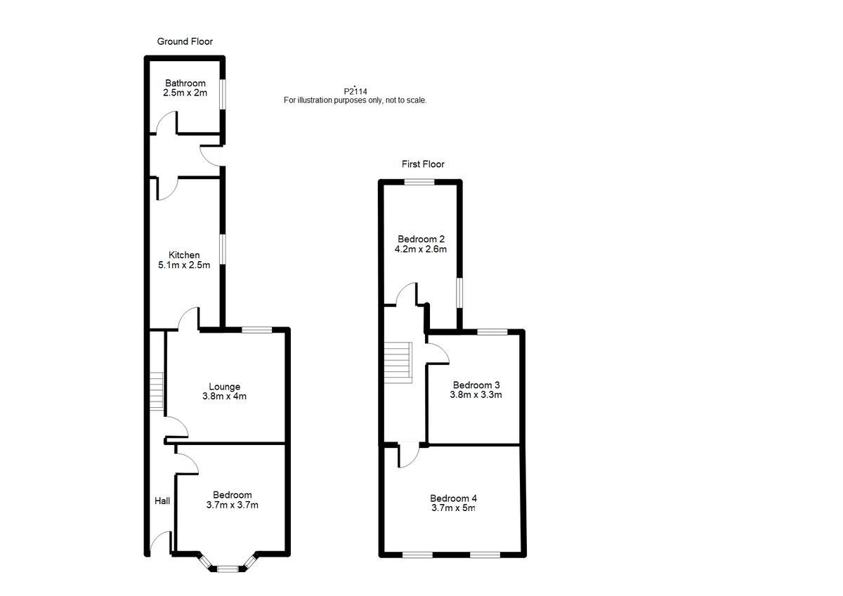Student housing on Markham Street, Haxby Road - floorplan 01
