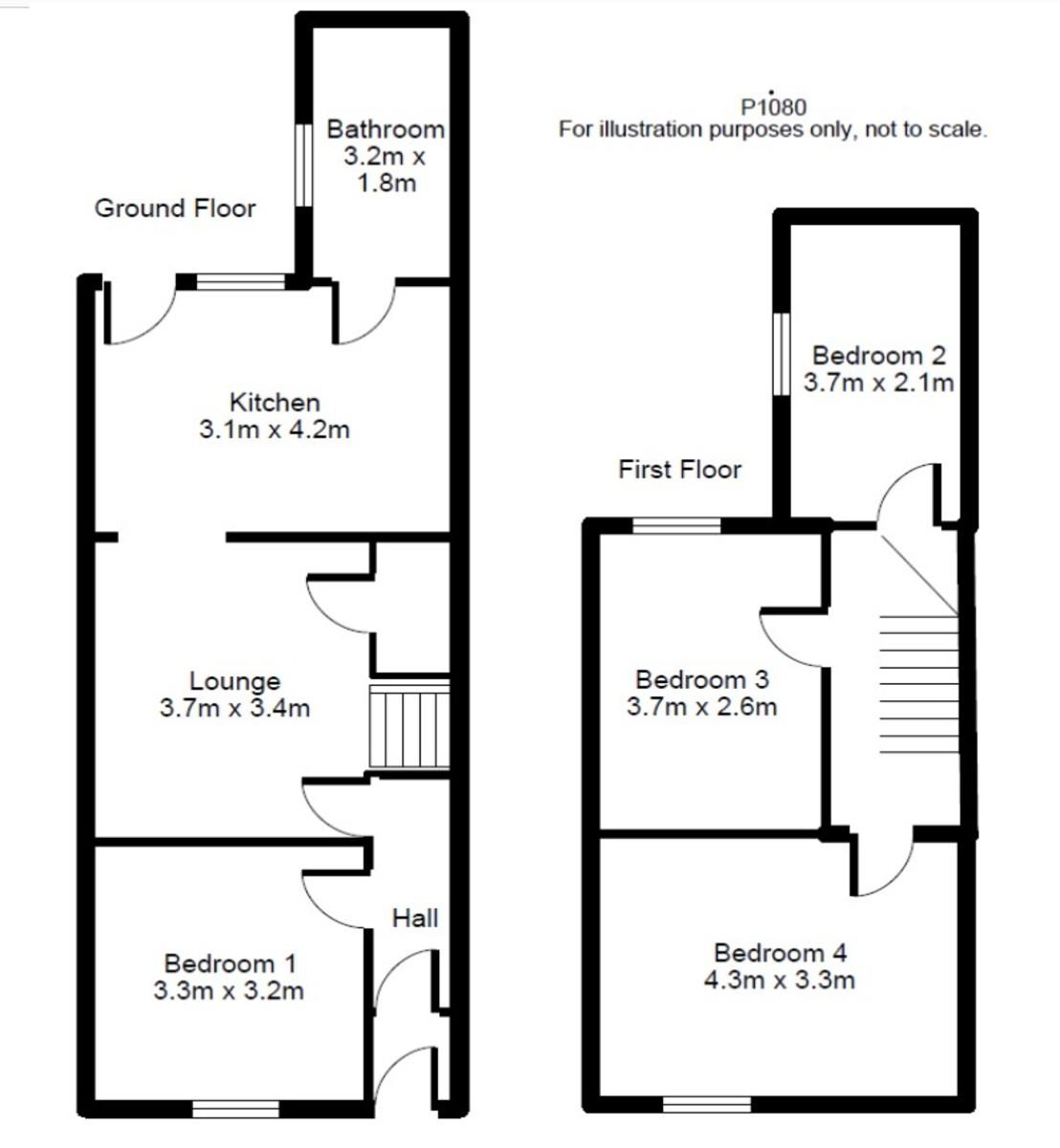 Student housing on Poppleton Road, Holgate - floorplan 01