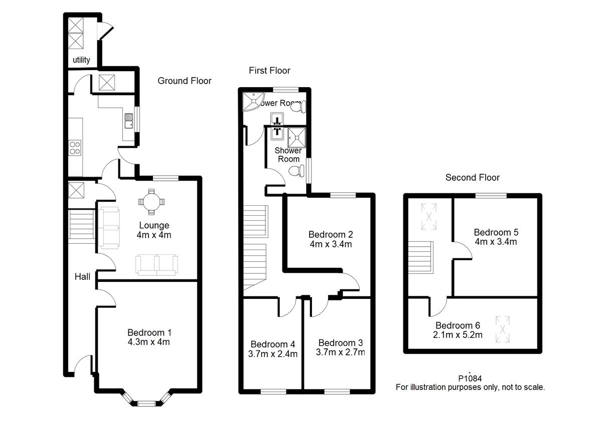Student housing on St Johns Street, Lord Mayor`s Walk - floorplan 01