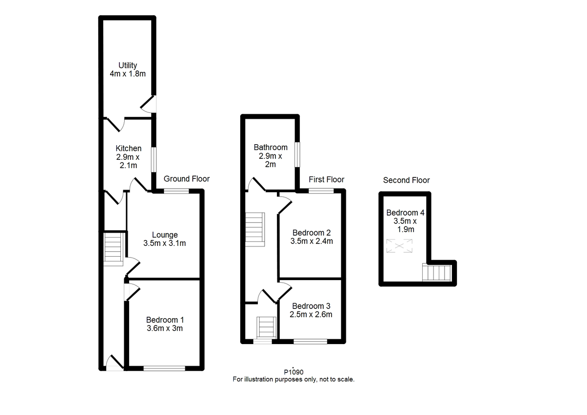 Student housing on Prospect Terrace, Fulford - floorplan 01