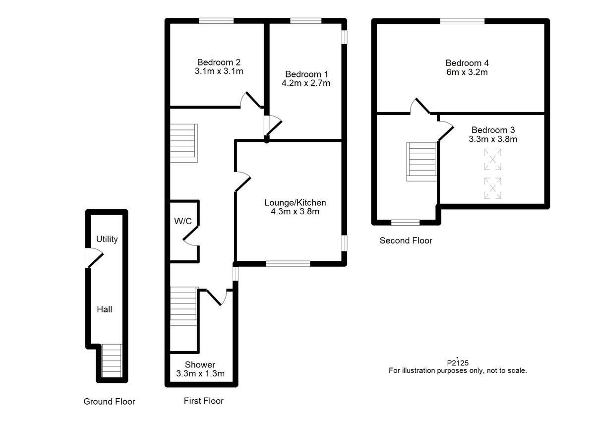 Student housing on Heworth Village - floorplan 01