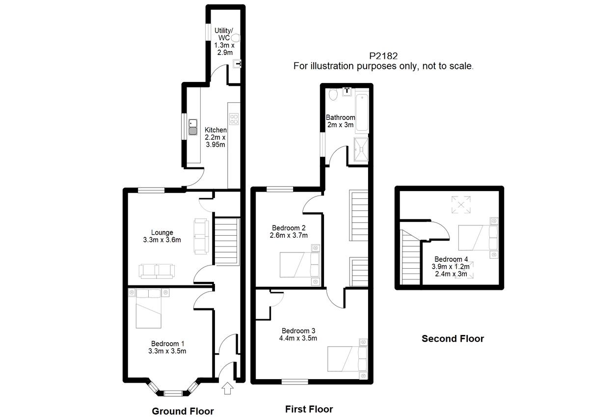 Student housing on Stanley Street, The Groves - floorplan 01