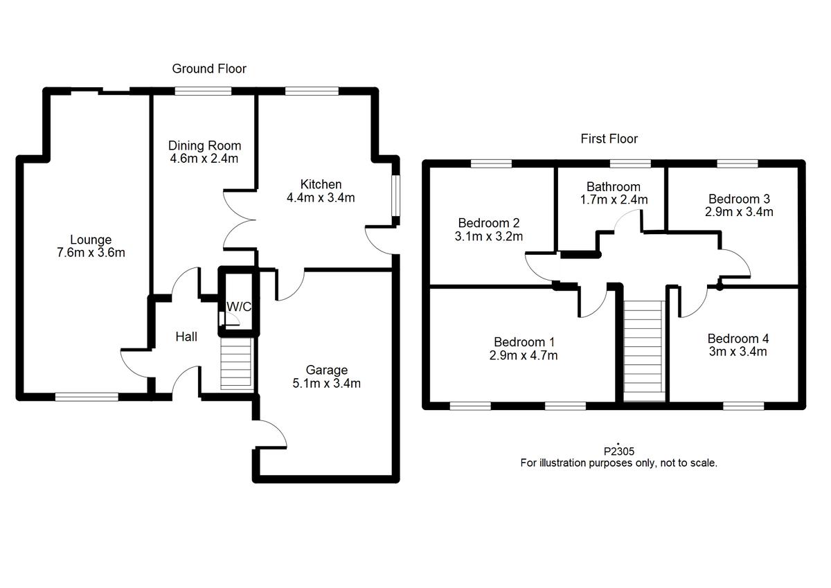 Student housing on Maple Avenue, Bishopthorpe - floorplan 01