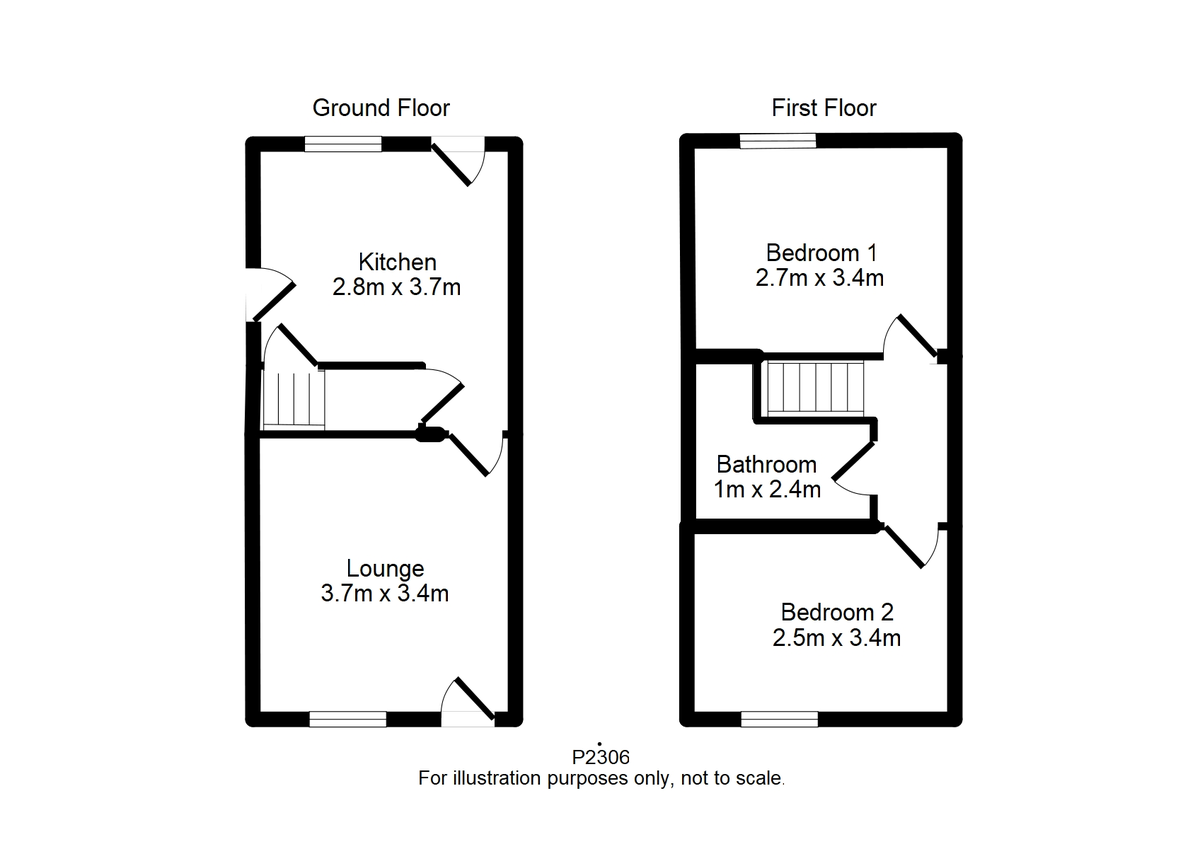 Student housing on Upper Newborough Street, Burton Stone Lane - floorplan 01