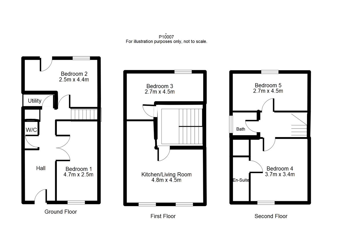 Student housing on Redbarn Drive, Osbaldwick - floorplan 01