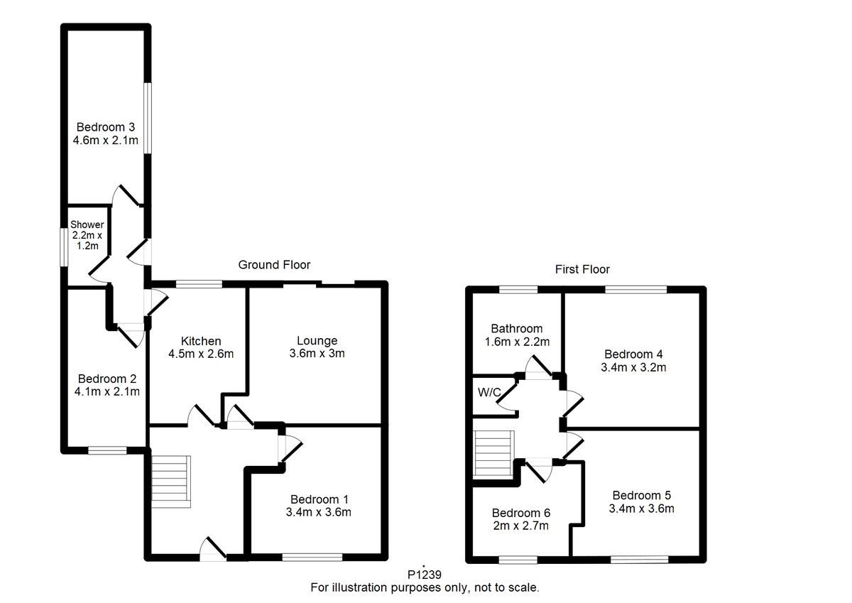 Student housing on Brentwood Crescent, Badger Hill - floorplan 01