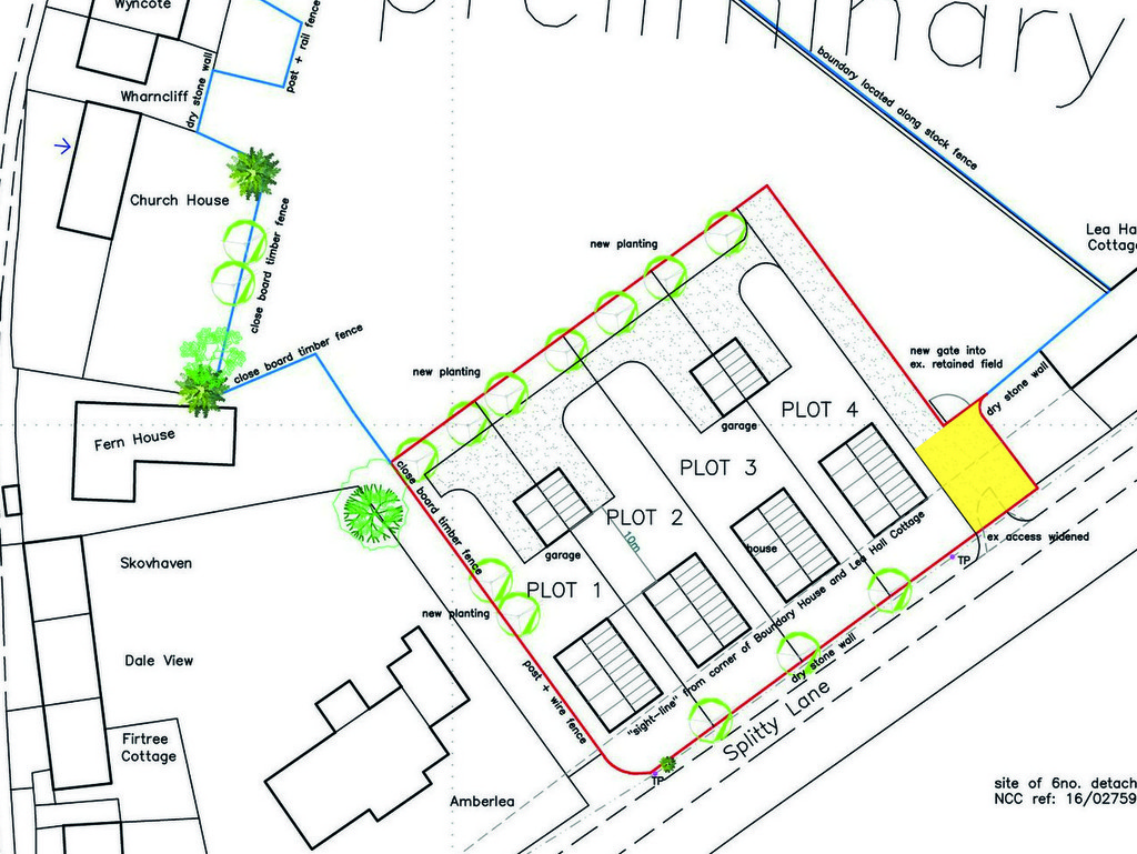 Development Land, West of Lea Hall Cottage, Catton
