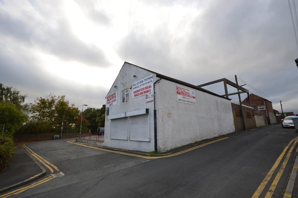 Garage, Workshop & House, Hutton Terrace, Willington, Crook