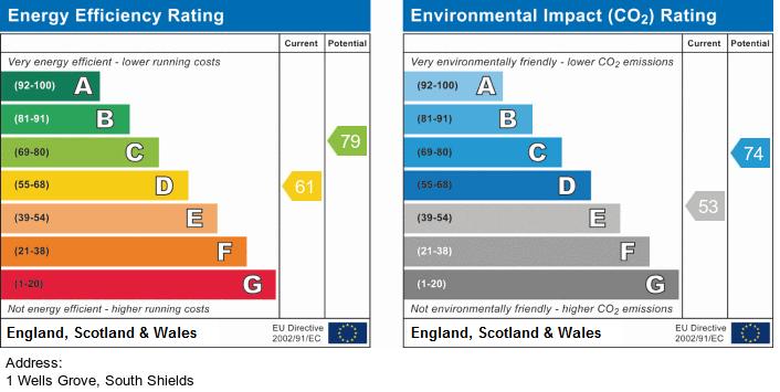 Wells Grove, South Shields EPC graph
