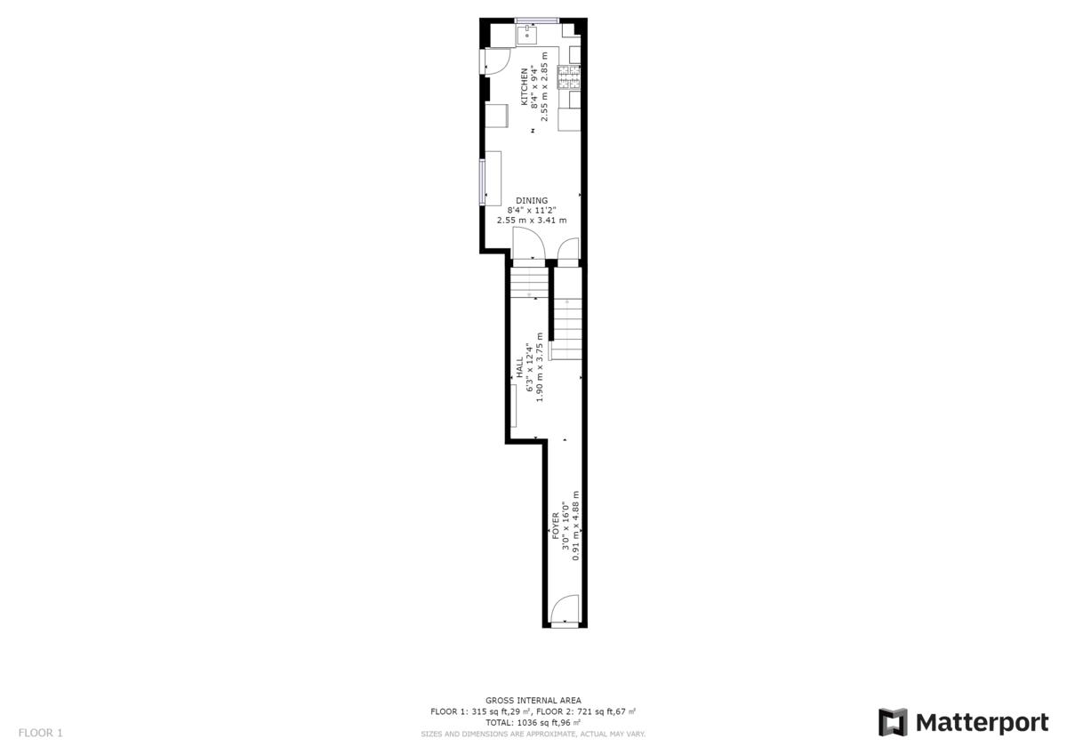 Westoe Road , South Shields floorplan