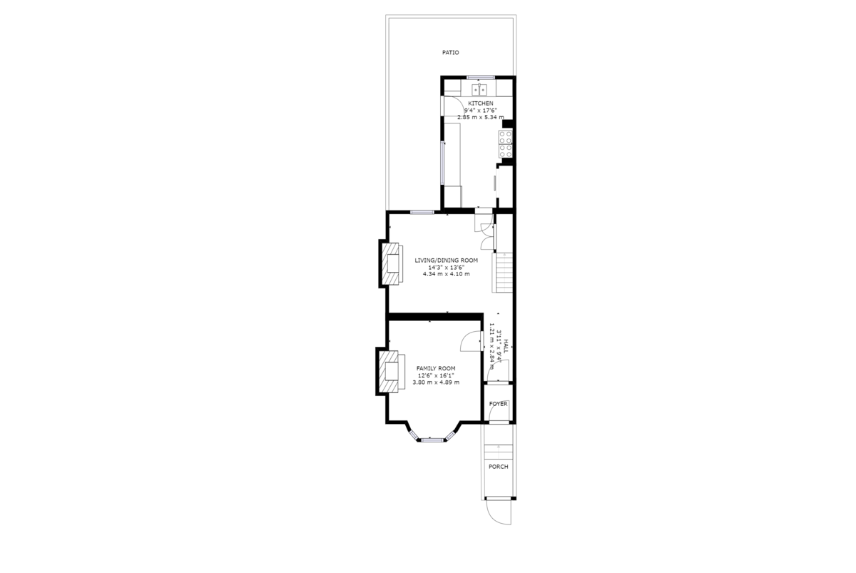 Blagdon Ave floorplan
