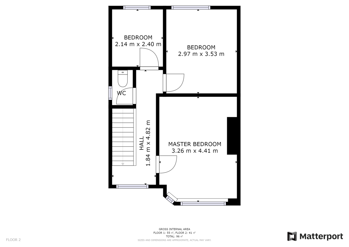 Cauldwell Villas, South Shields floorplan