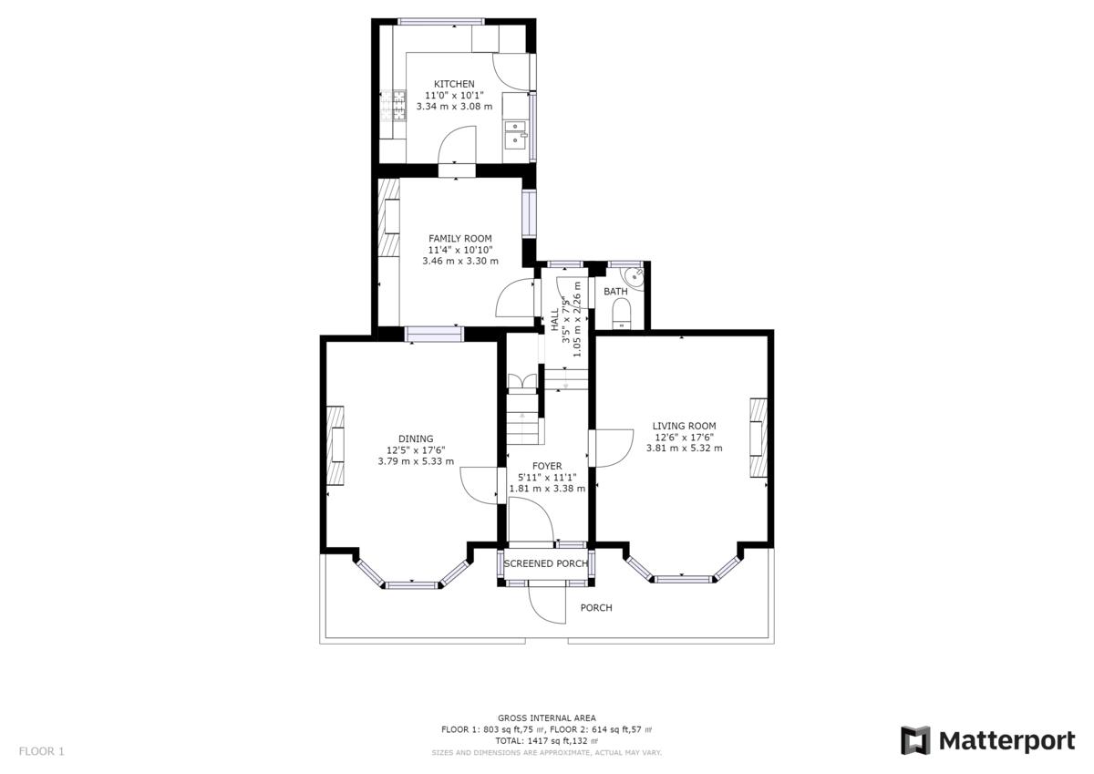 Romily Street, South Shields  floorplan