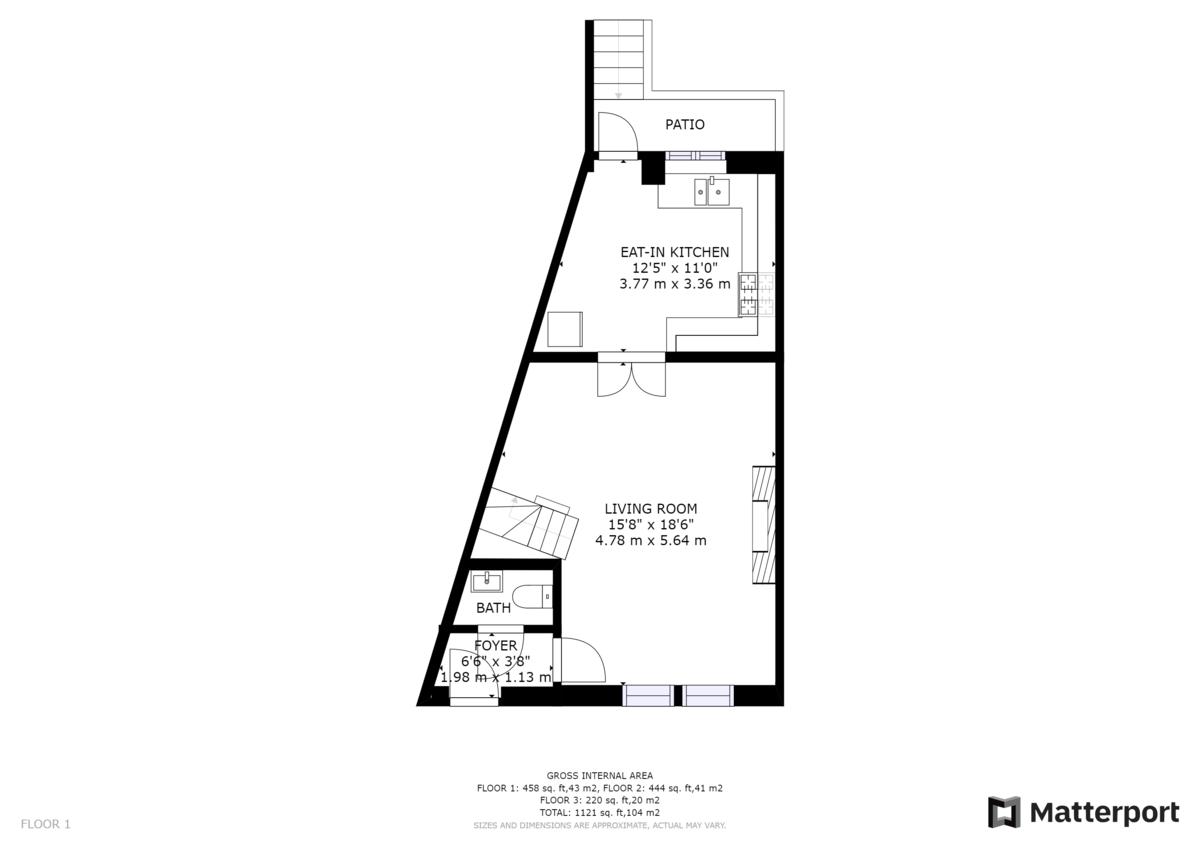 Hunter Street floorplan