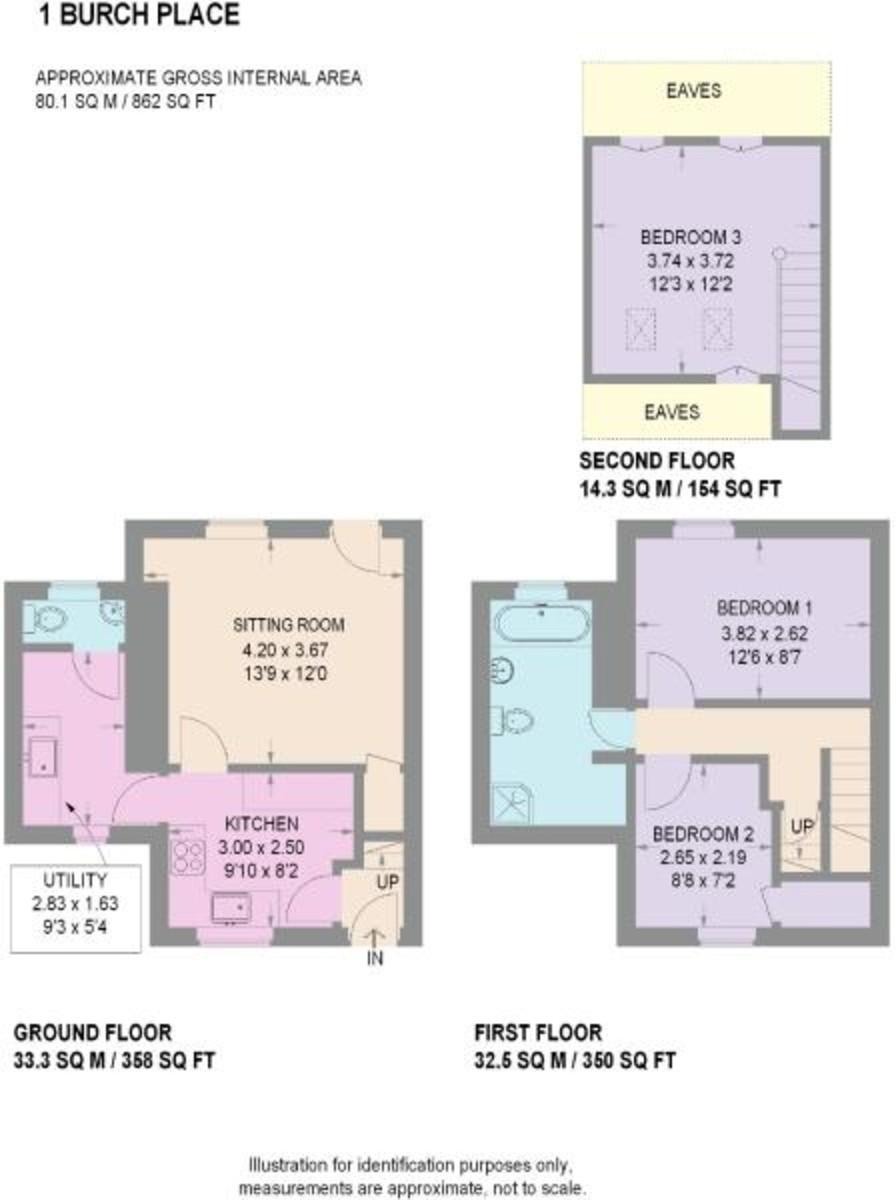 Property Floorplan   ELR Estate Agents