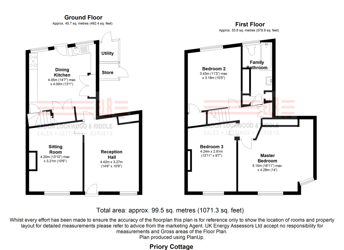 Property Floorplan | ELR Estate Agents