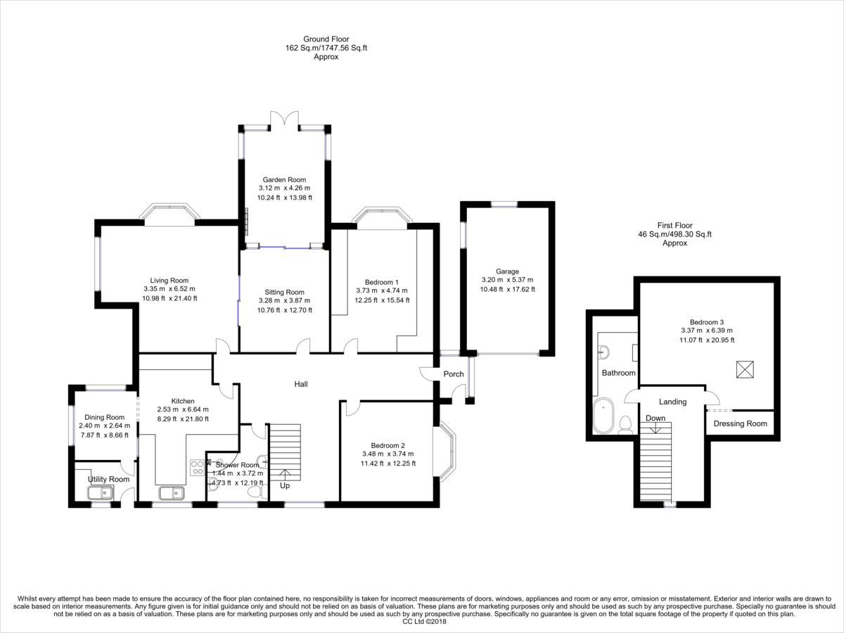 Property Floorplan | ELR Estate Agents