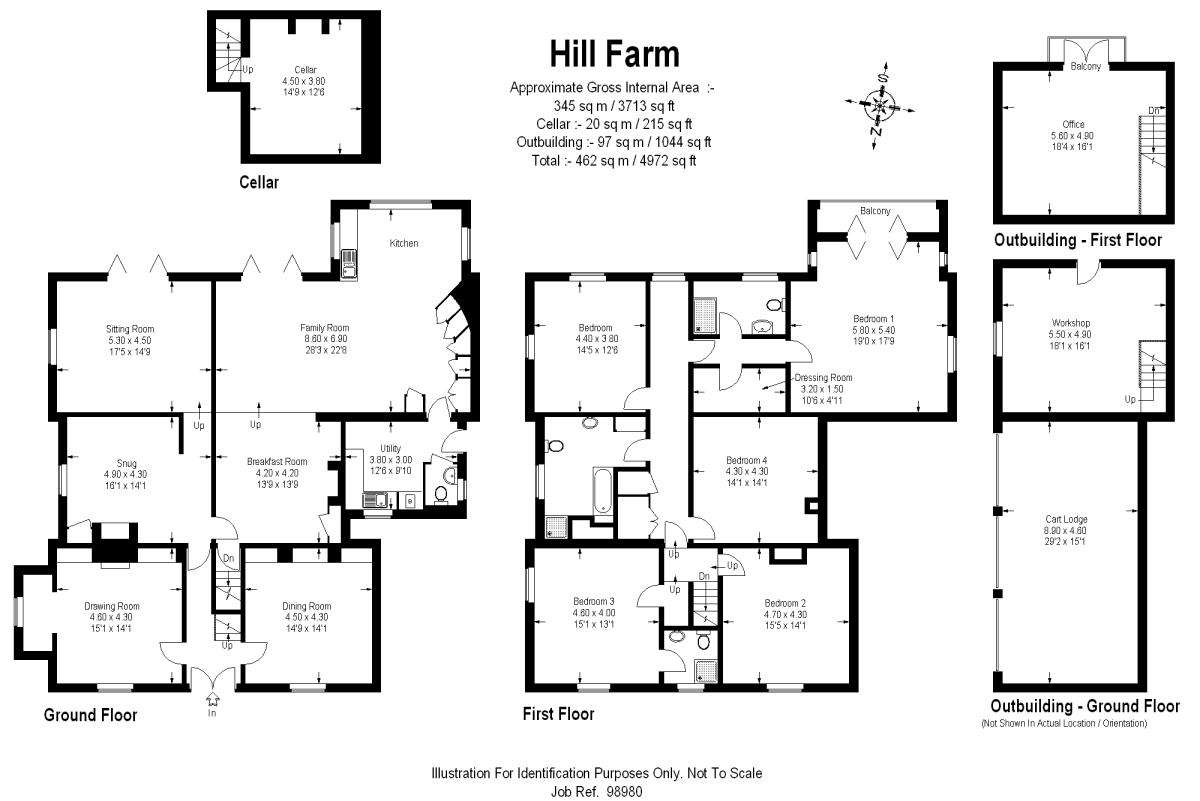 Twinstead, Sudbury, Suffolk Floorplan