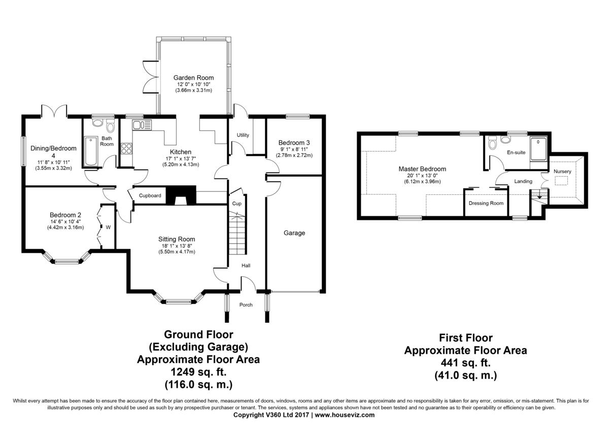 Thorns Corner, Wickhambrook, Newmarket Floorplan