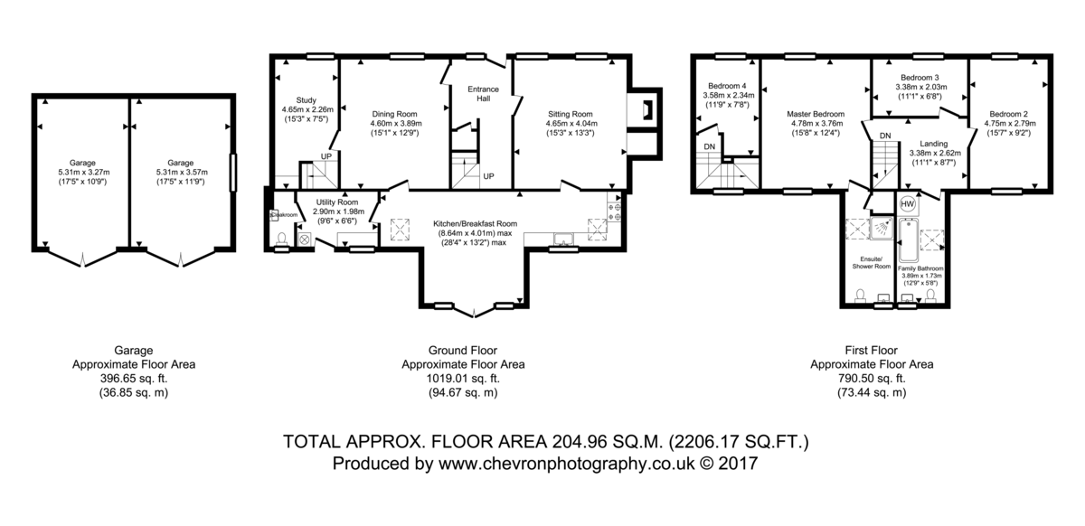 Wormingford, Essex Floorplan