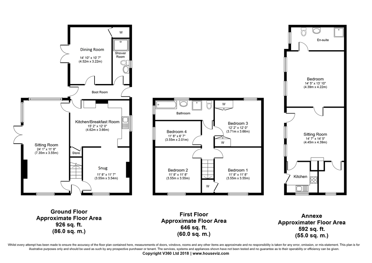 High Street, Castle Camps, Cambridge Floorplan