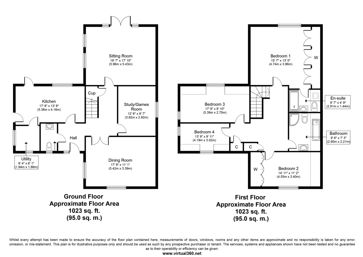 Beck Road, Isleham, Ely Floorplan