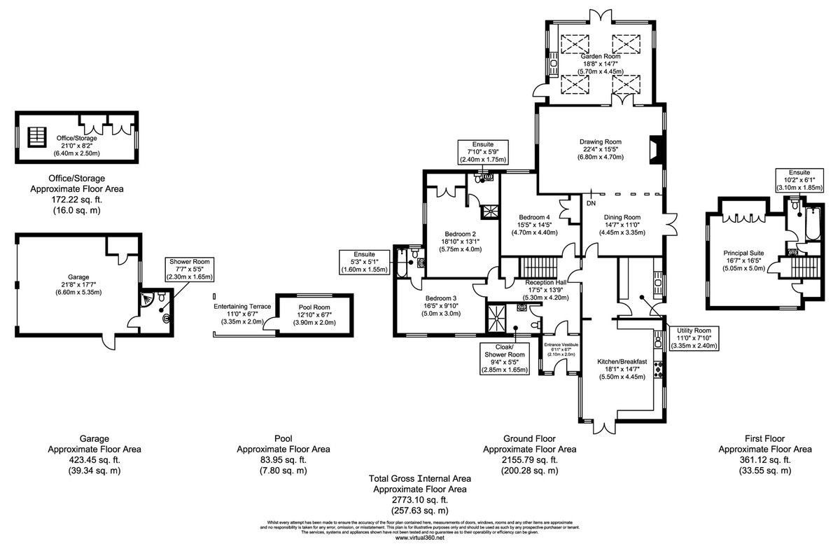 Twinstead, Sudbury, Suffolk Floorplan