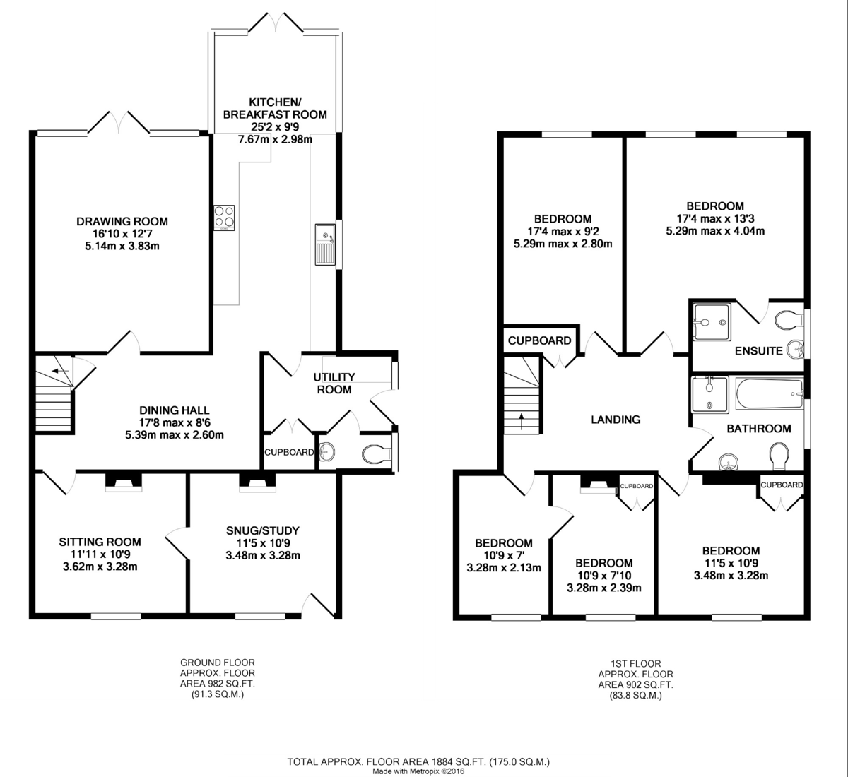 Belchamp St Paul, Sudbury, Suffolk Floorplan