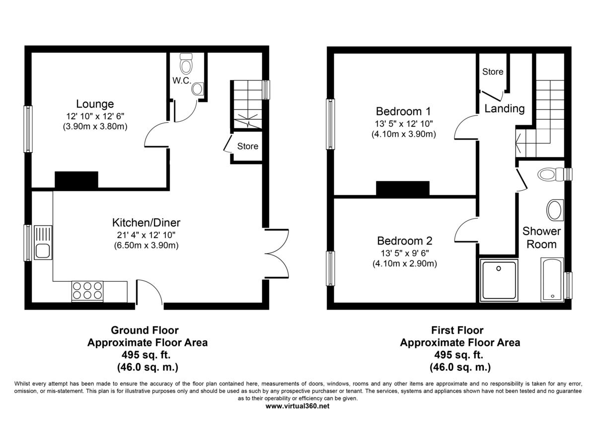 Moulton, Newmarket Floorplan
