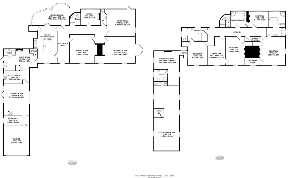 Stoke by Clare, Sudbury, Suffolk Floorplan