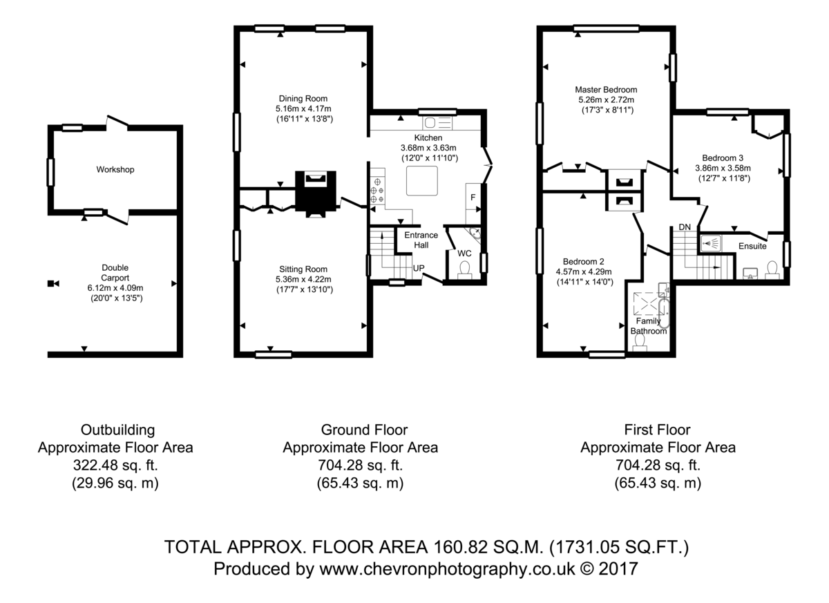 Great Oakley, Harwich, Essex Floorplan