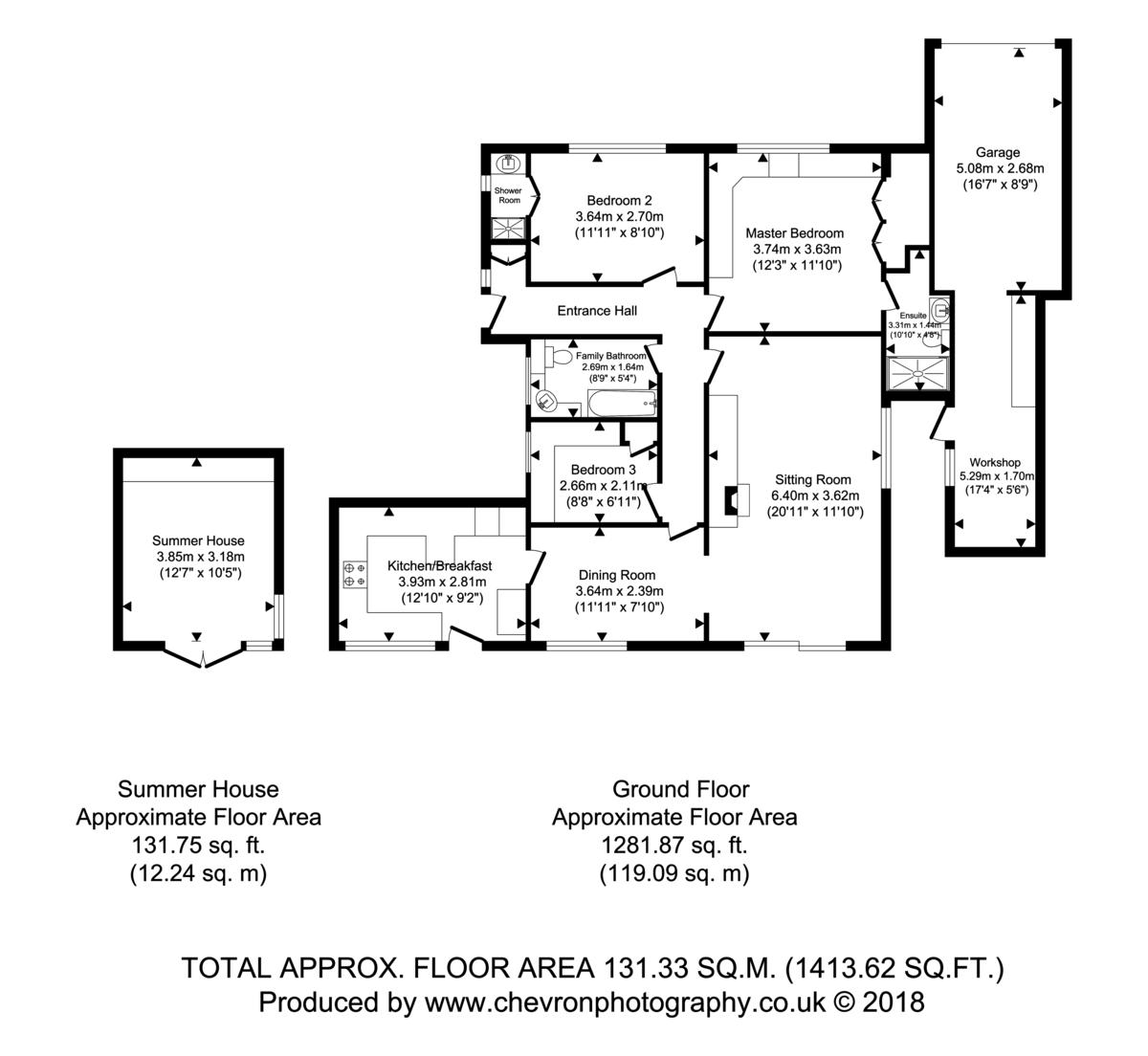 Leavenheath, Suffolk Floorplan