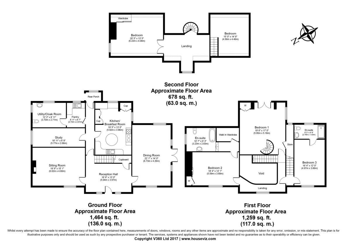 Lawshall, Bury St Edmunds, Suffolk Floorplan