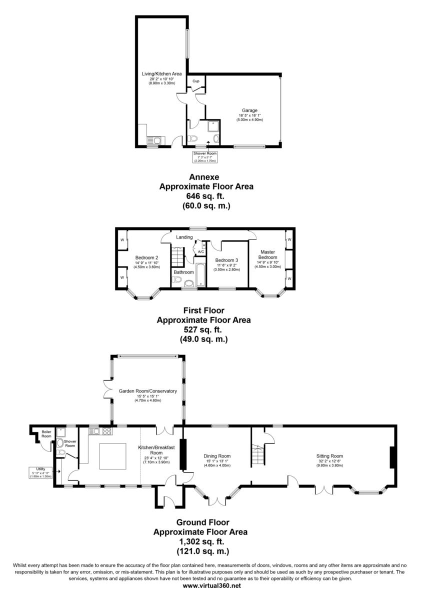 Icklingham, Bury St Edmunds, Suffolk Floorplan