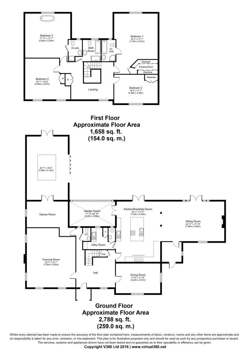 Wickhambrook, Newmarket Floorplan