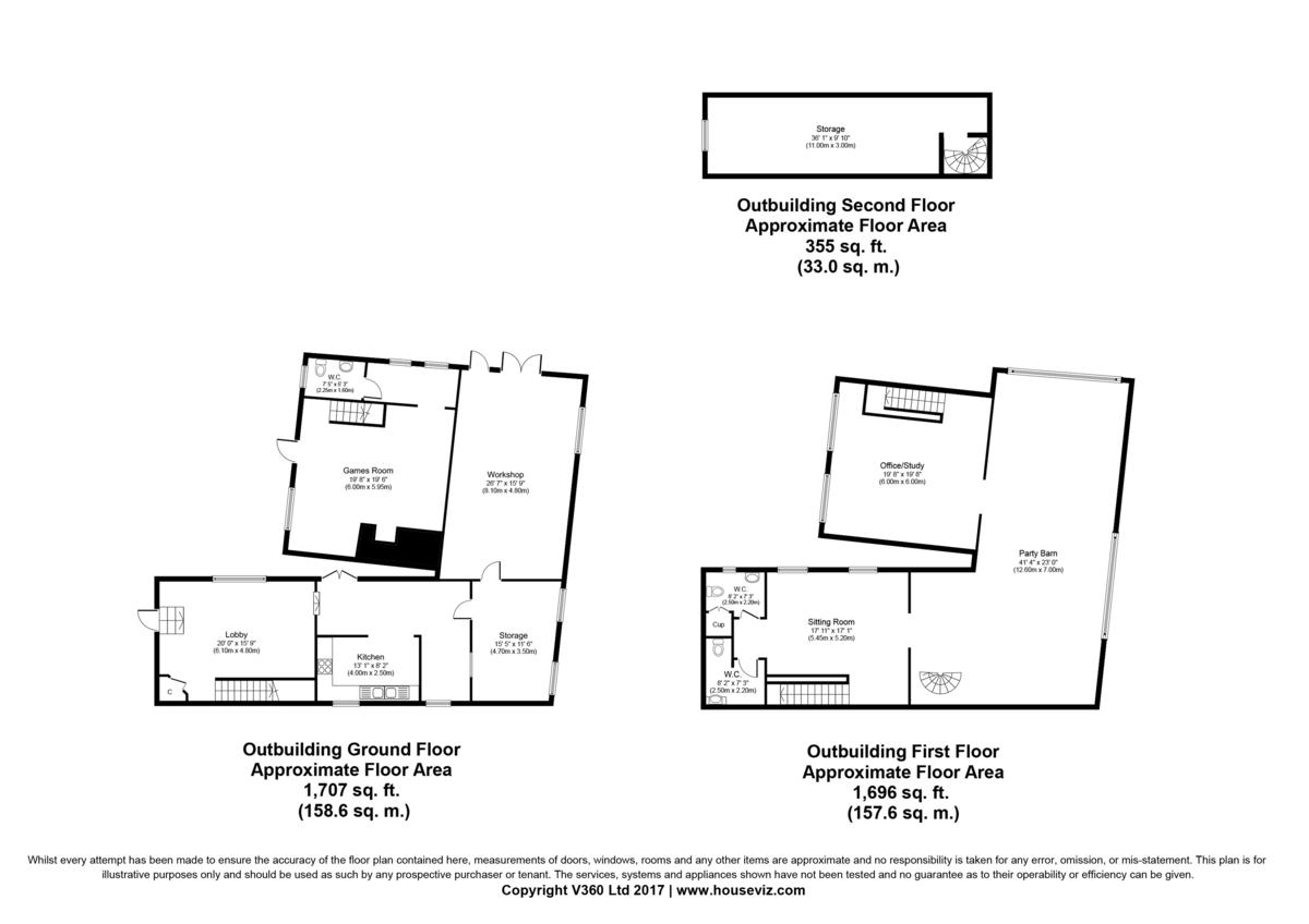 Pye Corner, Castle Hedingham Floorplan