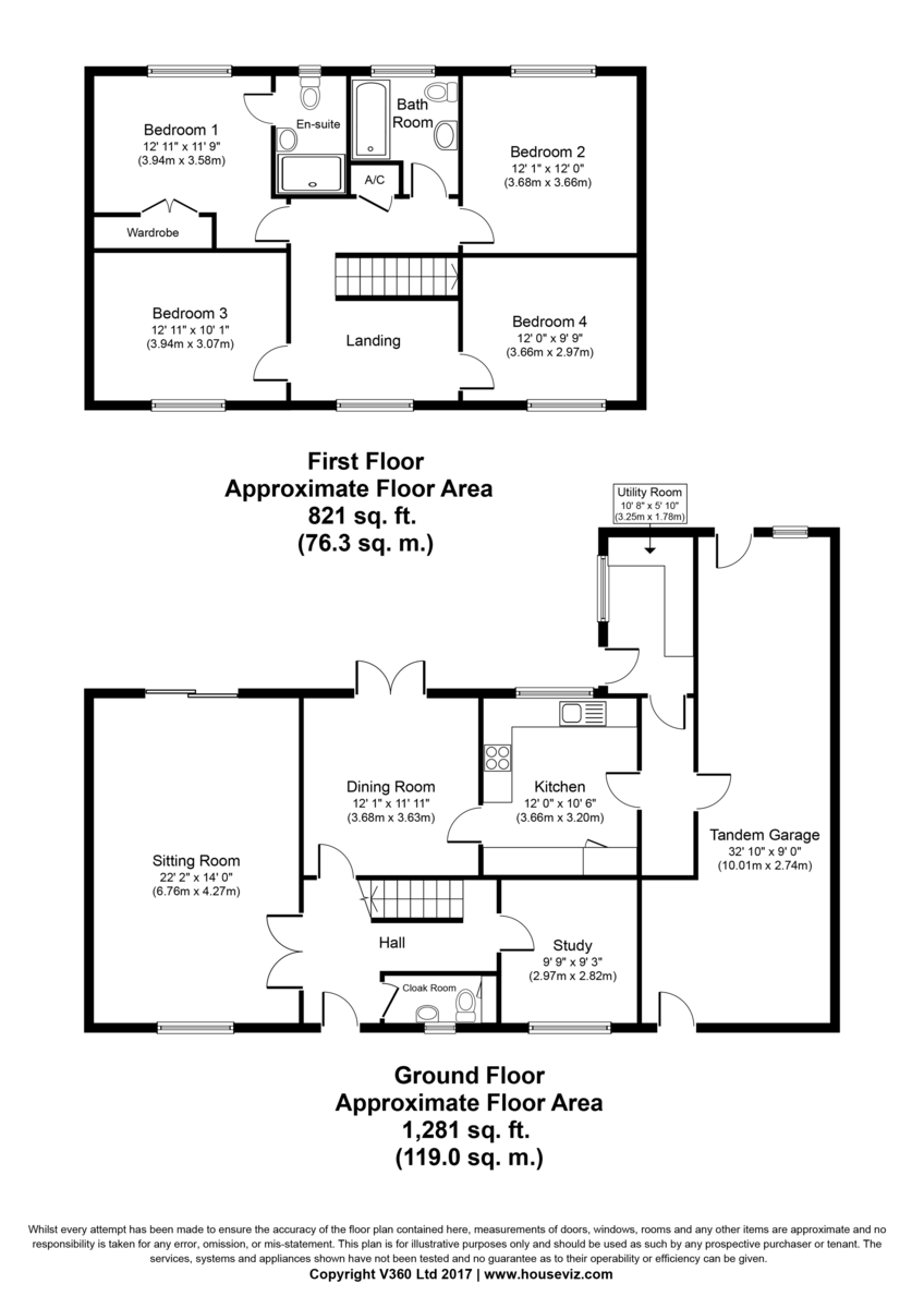 Great Barton, Bury St Edmunds, Suffolk Floorplan