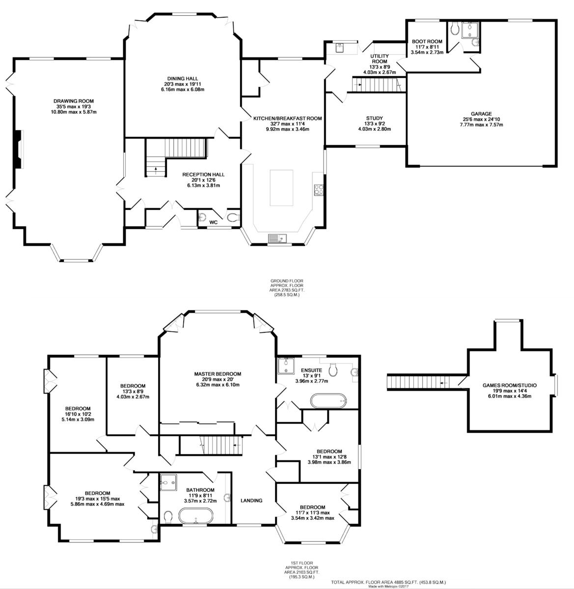 Whepstead, Bury St Edmunds, Suffolk Floorplan