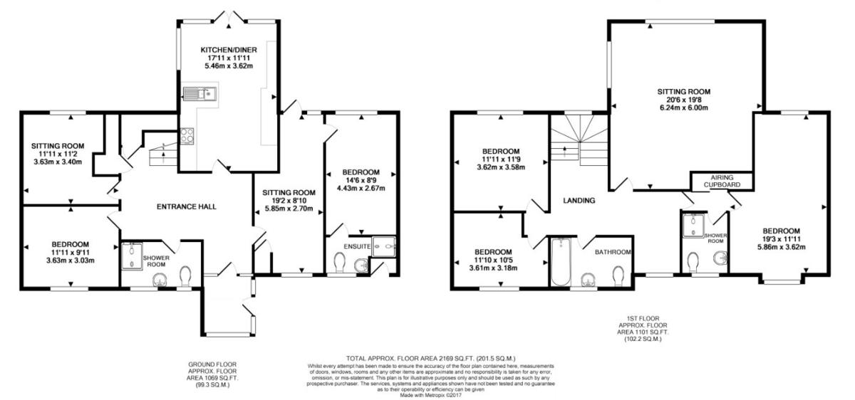 Kirtling, Newmarket Floorplan
