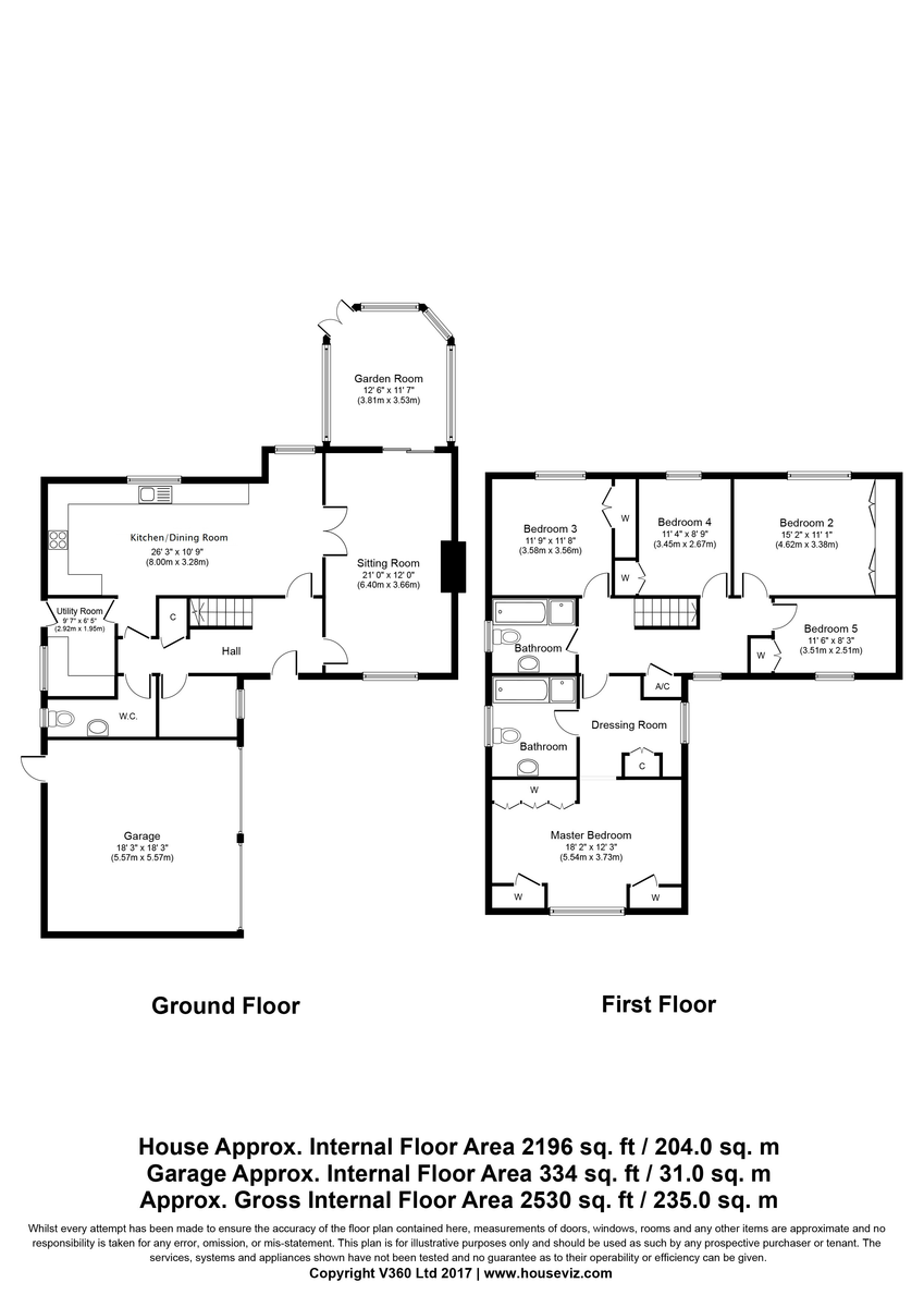Forest End, Kennett Floorplan