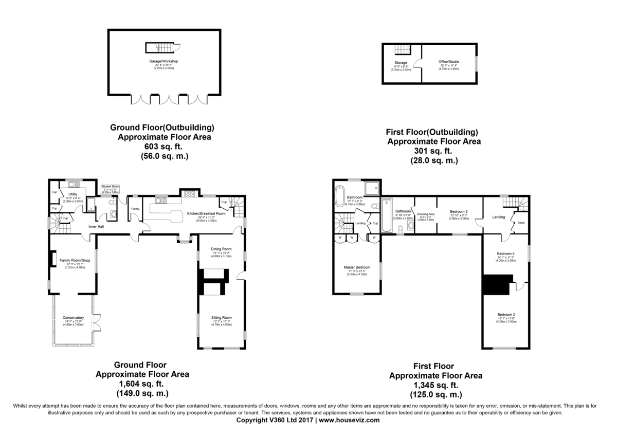 Pebmarsh, Halstead Floorplan