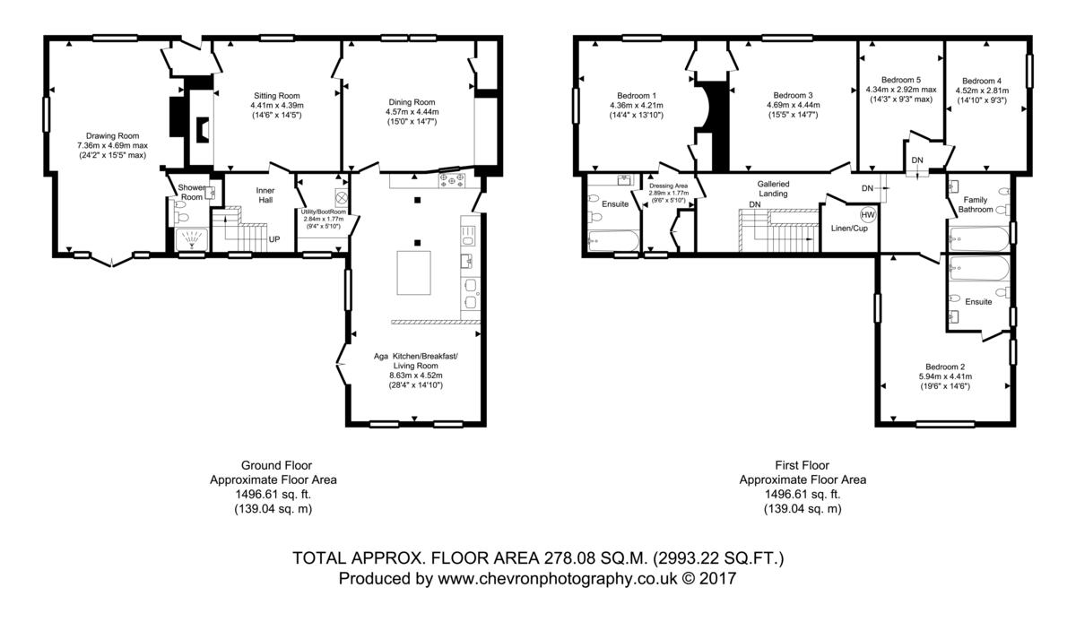 Hartest, Bury St Edmunds, Suffolk Floorplan