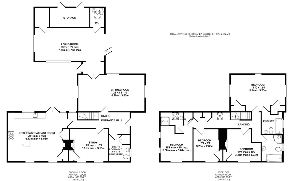 Seven Hills, Bury St Edmunds, Suffolk Floorplan