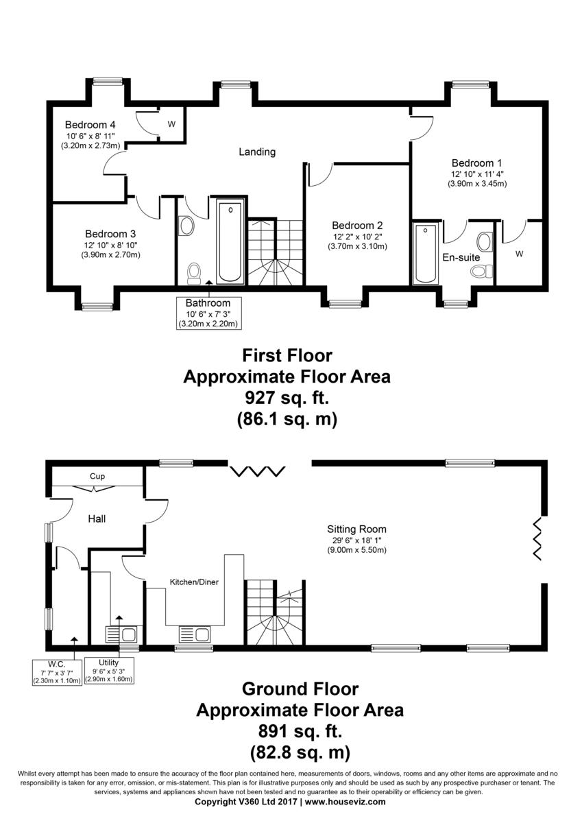 Sturmer, Suffolk Floorplan