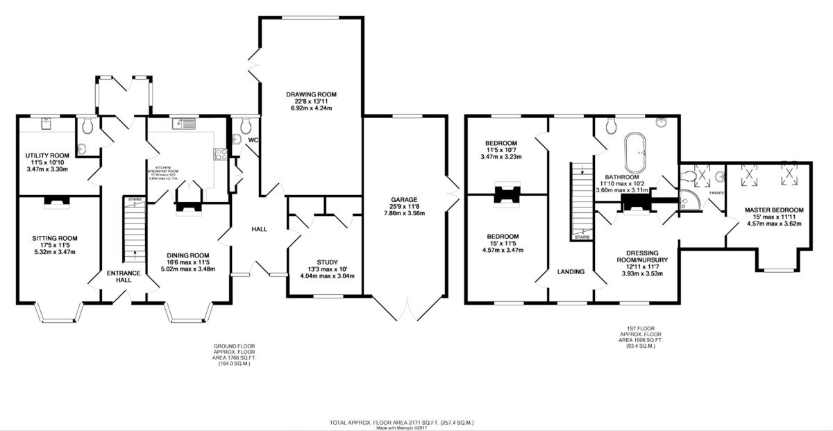 Greenstead Green, Halstead Floorplan
