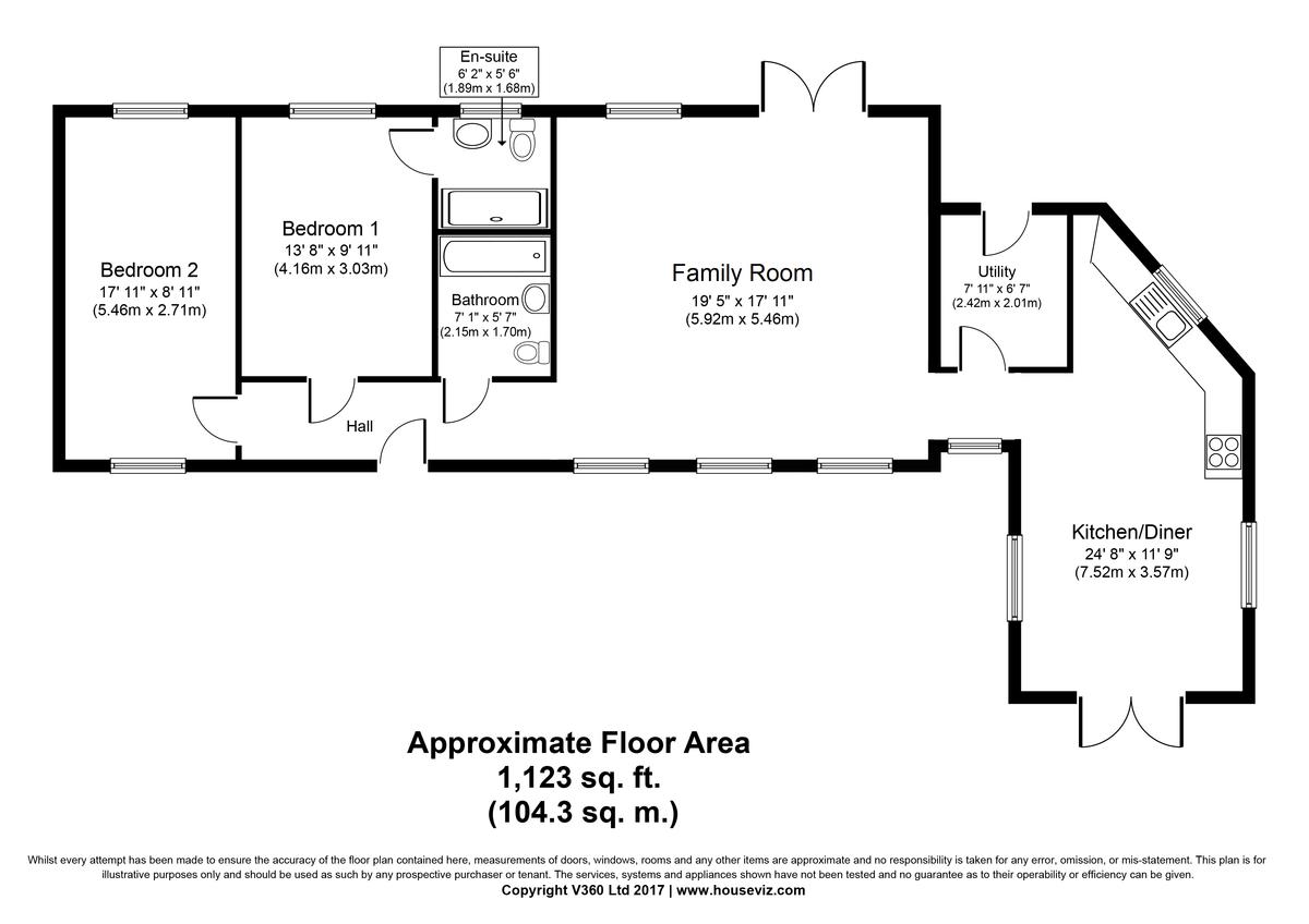 Plumbers Mews, Wickham Street Floorplan