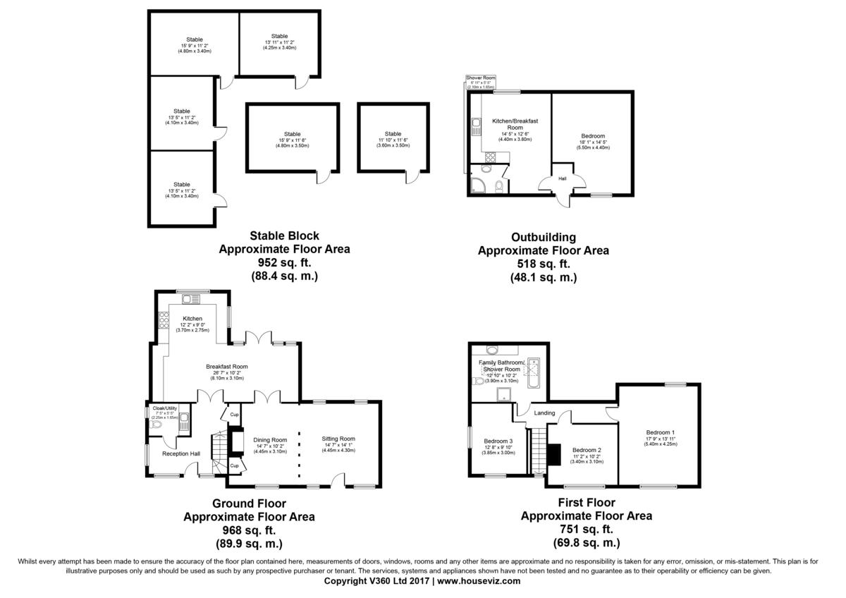 North End, Dunmow, Essex Floorplan