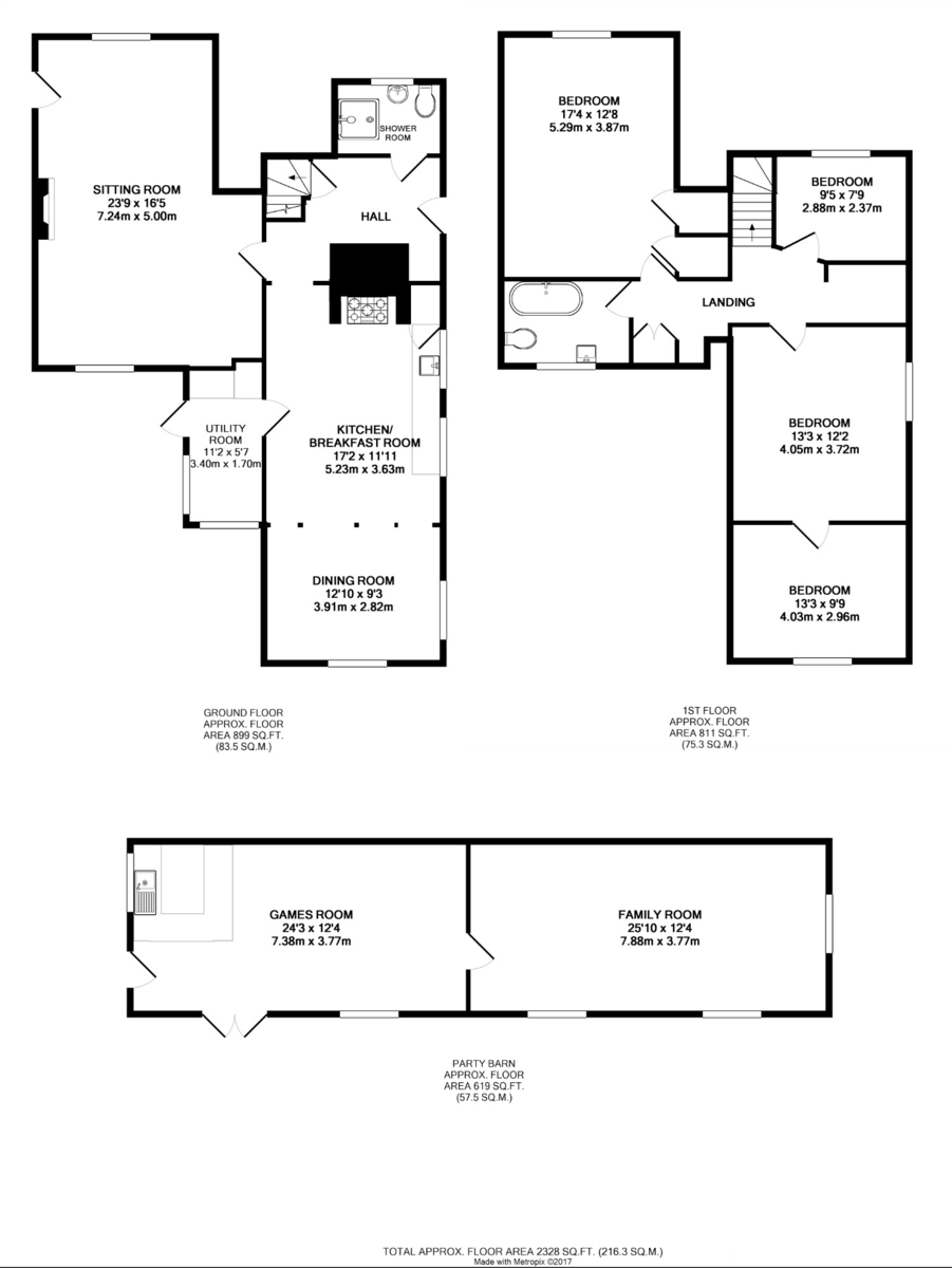 Cockfield, Bury St Edmunds, Suffolk Floorplan
