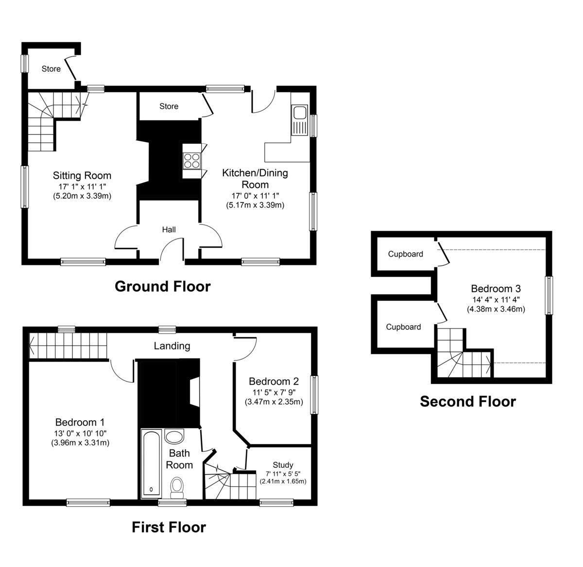 Wetheringsett, Suffolk Floorplan
